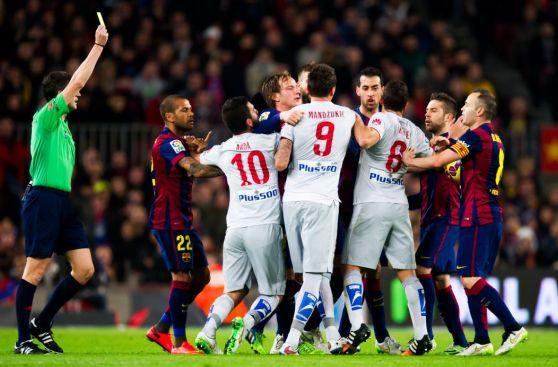 Barcelona vs Atlético: lo mejor en fotos de un partido caliente