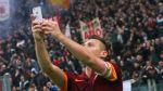 Francesco Totti anotó gol y se tomó selfie en la celebración - Noticias de kevin strootman