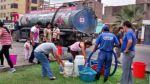 Trujillo: suministro de agua se restablece de forma gradual - Noticias de florencia de mora