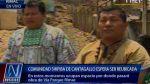 Shipibos de Cantagallo piden a Castañeda agilizar reubicación - Noticias de vía de evitamiento
