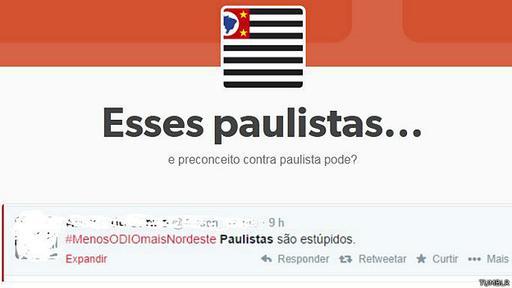 Imagen de un blog de Tumblr. La red social es popular en Brasil.