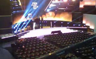 Balón de Oro: lugar para la ceremonia se armó en 47 segundos