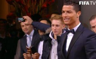 Balón de Oro: Cristiano Ronaldo llegó sin Irina Shayk a la gala