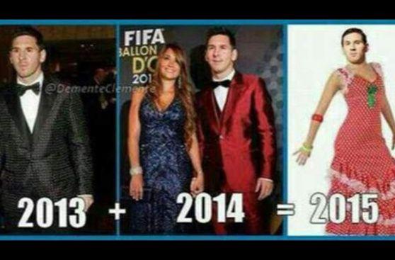 Balón de Oro: memes del traje de Lionel Messi y más de la gala
