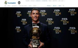 Cristiano Ronaldo: Real Madrid y compañeros lo felicitaron