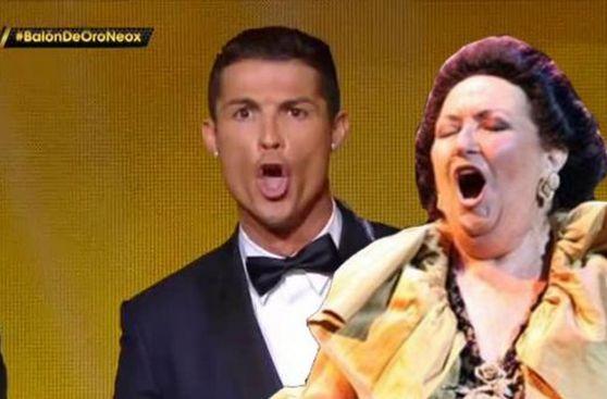 Cristiano Ronaldo y los memes que dejó la gala del Balón de Oro