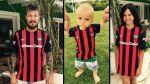 San Lorenzo: Tinelli e hijos lucen en Twitter la nueva camiseta - Noticias de vanesa lorenzo