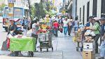 Cercado de Lima: ambulantes son retirados parcialmente - Noticias de jiron andahuaylas
