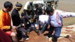 Huancané: así fue el rescate tras caída de vehículo a río - Noticias de accidentes en carreteras