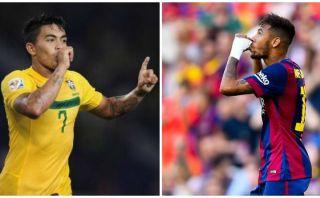 ¿Neymar igual a Dudú? Comparan en Brasil al astro del Barcelona