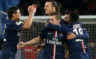 PSG ganó 1-0 con gol de Zlatan Ibrahimovic por Copa de la Liga