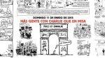 Esta es la página central de Charlie Hebdo tras atentados - Noticias de liberation