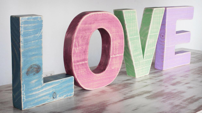 Dulce sensaci n decora tu casa con colores ice cream foto galeria 1 de 9 el comercio peru - Casa letras madera ...