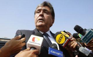 Alan García: Pese a inseguridad, Gobierno espía a opositores