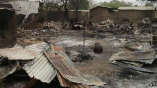 Baga ha sido atacada varias veces por Boko Haram.