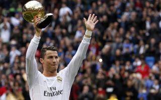 Cristiano mostrará Balón de Oro antes de enfrentar al Atlético