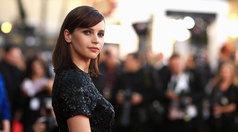 Felicity Jones, la dulce apuesta del Oscar 2015
