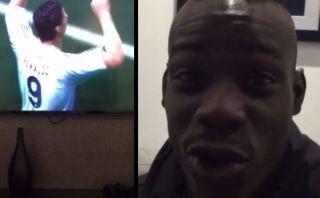Mario Balotelli anota gol con CR7 en FIFA 2015 y lo celebra así
