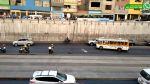 WhatsApp: poste de luz se desplomó cerca a plaza Dos de Mayo - Noticias de accidentes de tránsito