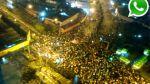 """WhatsApp: violencia y caos en cuarta marcha contra """"Ley Pulpín"""" - Noticias de minuto a minuto"""