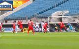 Paolo Guerrero marcó dos goles en Corinthians ante Leverkusen