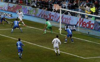 Cristiano Ronaldo anotó tras sensacional 'pisada' de Benzema