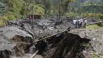 Deslizamiento en Huánuco sepultó a una familia - Noticias de huánuco