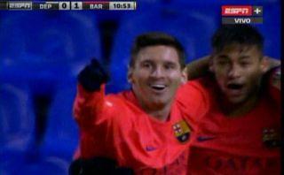 Lionel Messi anotó golazo para Barcelona con perfecto cabezazo