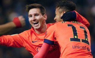 Lionel Messi llegó a los 30 'hat-tricks' con el Barcelona