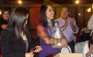 Nadine Heredia recibió regalo de gerente de empresa Antalsis