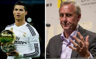 Johan Cruyff cree que Cristiano Ronaldo no merecía Balón de Oro