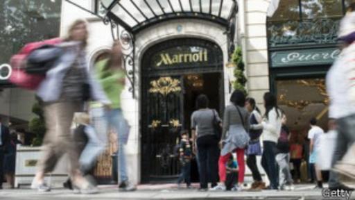 Marriott es objeto de críticas por su manejo del internet en sus hoteles.