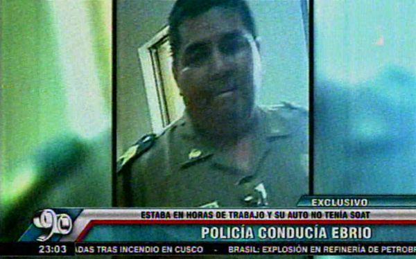 Chorrillos: suboficial de la PNP fue detenido por manejar ebrio | El ... - El Comercio