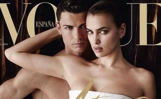 Cristiano Ronaldo confirmó fin de relación con Irina Shayk