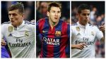 ¿Kross, Messi o James? Descubre al mejor organizador del 2014 - Noticias de andrés iniesta