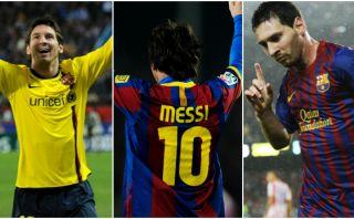 Lionel Messi marcó tres 'hat-tricks' al Atlético de Madrid