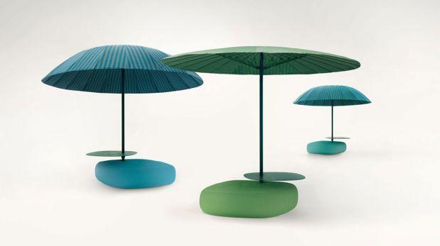 Decora tu terraza con estas hermosas sombrillas for Alcampo sombrillas terraza