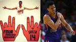 Gerald Green, el crack de la NBA que juega con cuatro dedos - Noticias de gerald green