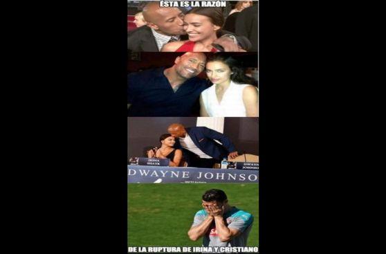 Cristiano Ronaldo e Irina Shayk: los memes de su ruptura