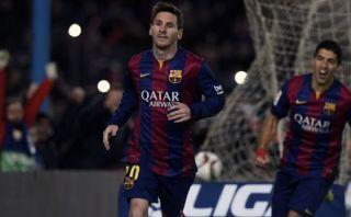 Lionel Messi falló penal y anotó el gol en la misma jugada