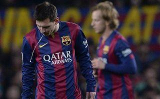 Lionel Messi volvió a tener arcadas en partido ante el Atlético