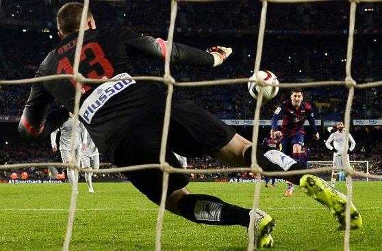 Lionel Messi y el gol que anotó tras el penal fallado (FOTOS)