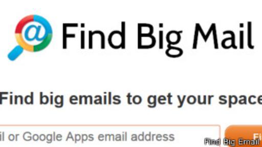 En esta página puede encontrar los mensajes más grandes que tienes en Gmail.