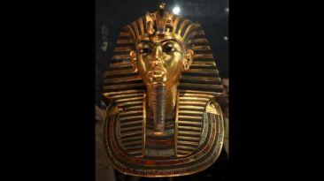 Reparación 'apresurada' daño gravemente máscara de Tutankamón