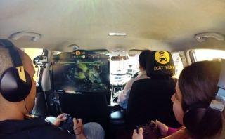 YouTube: En Chile integran videojuegos en taxis