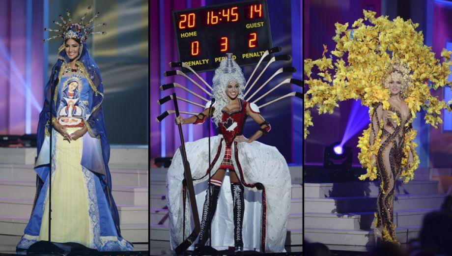 Miss Universo: los trajes típicos más extravagantes