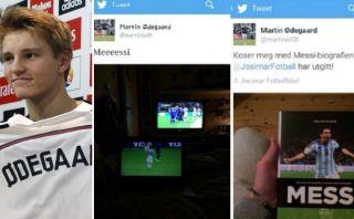 Nuevo crack del Madrid borró tuits en los que alabó a Leo Messi
