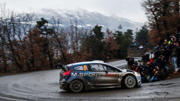 Loeb ha ganado siete veces el Rally de Montecarlo. (Fotos: DPPI)