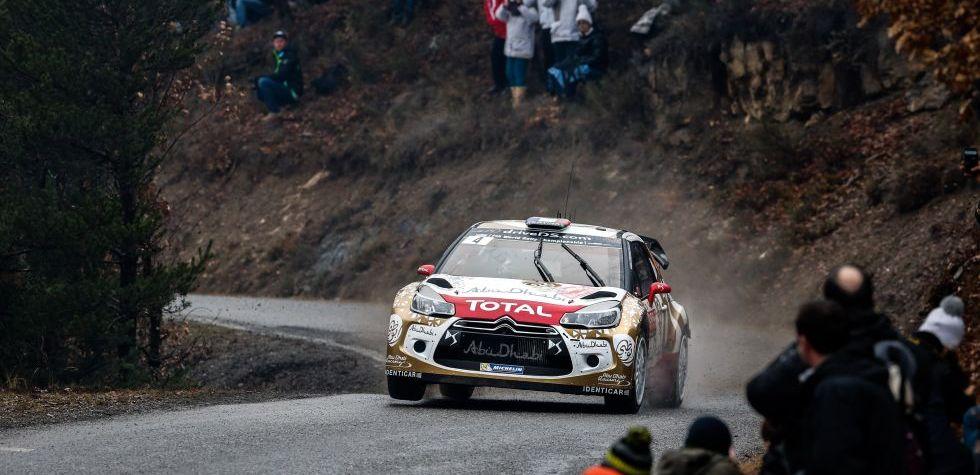 WRC: Sebastien Loeb marcha primero en Montecarlo