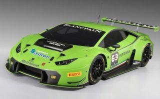 Lamborghini presentó el nuevo Huracan GT3